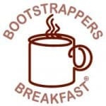Bootstrapper Breakfasts allow for private conversations before and after the main meetings