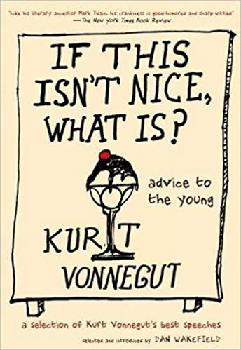 text of Kurt Vonnegut's commencement speech at Agnes Scott College, May 5, 1999 where he suggests we replace the Code of Hammurabi with the Sermon on the Mount.