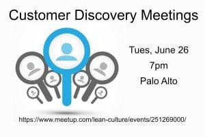 Customer Discovery Meetings