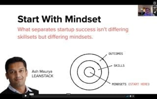 Start with Mindset with Ash Maurya